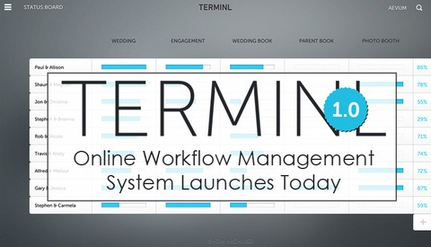Great New Workflow Management System Launches Today - TERMINL