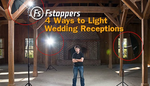 Free Wedding Tutorial:  How To Light Wedding Reception Venues