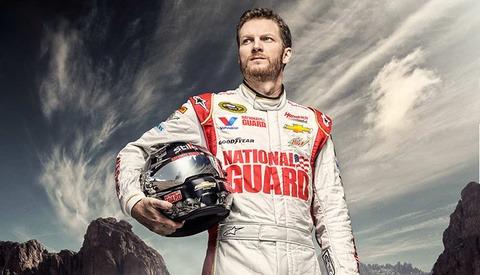 Dale Earnhardt Jr Nascar Photoshoot by Douglas Sonders