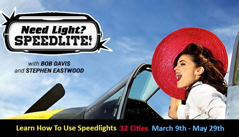 Learn How To Light:  32 City Speed Light Tour!