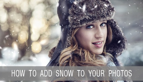 How To Make Snow in Photoshop with Custom Brushes