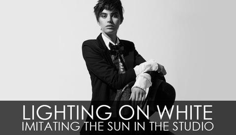 Lighting On White - Imitating The Sun In The Studio