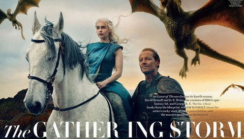 Behind the Scenes at Vanity Fair's Game of Thrones Photo Shoot