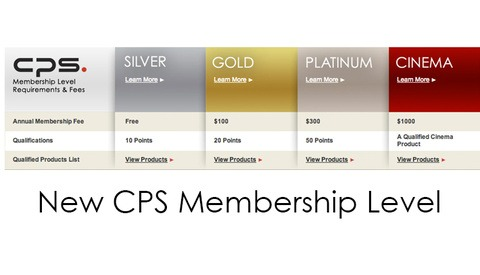 Canon Introduces New CPS Cinema Membership Level