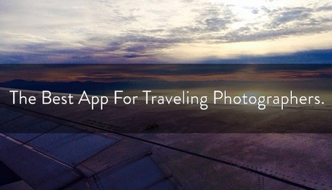 The Best App For Traveling Photographers.