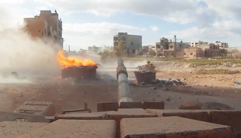 GoPro Mounted On Syrian Tanks Record Interesting and Terrifying Videos