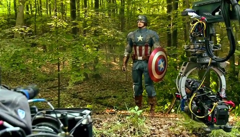 "A Behind the Scenes Look at ""Captain America: The Winter Soldier"""
