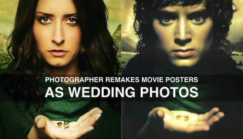 Photographer Remakes Movie Posters as Wedding Photos