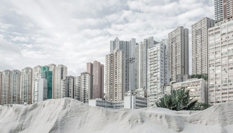 Surreal Cityskapes: Bence Bakonyi's 'Urbanite' Series