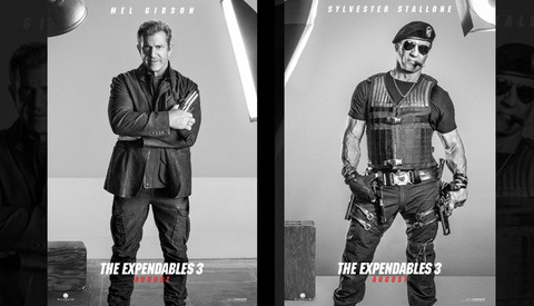 "New ""Expendables 3"" Promo Posters Show Lights Doing Nothing"