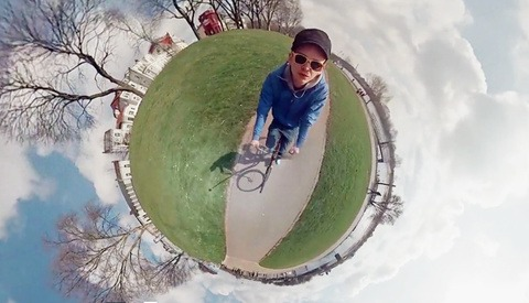 This 360° Spherical Panorama Video Takes Panoramas To The Next Level