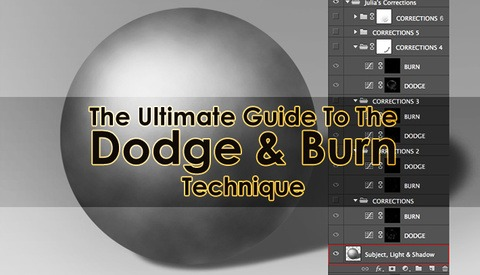 The Ultimate Guide to the Dodge & Burn Technique - Part 1: The Fundamentals
