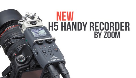 Check Out the New Zoom H5 Handy Audio Recorder