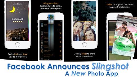 Facebook Releases Slingshot, A New Photo App
