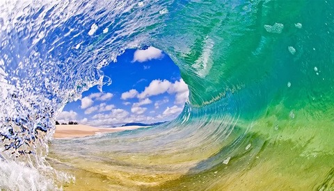 A Breathtaking BTS Look at Clark Little's Shorebreak Photography