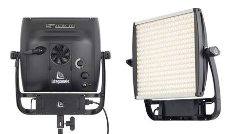 "New LitePanels Bi-Color LED Light ""Astra,"" Four Times Brighter Than The Original 1x1"