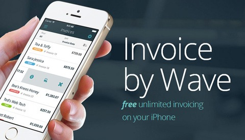 Wave Invoice for iPhone Now Available