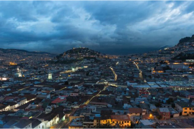 Night Time Location Shoot Quito, Ecuador