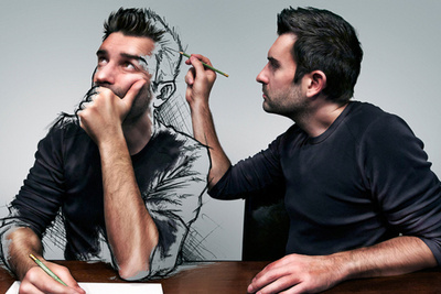 "New Series Entitled ""The Sketch of a Life"" Blends Digital Art With Photography"