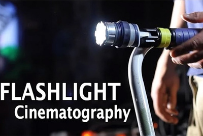 Amazingly Effective DIY Flashlight Lighting Setup