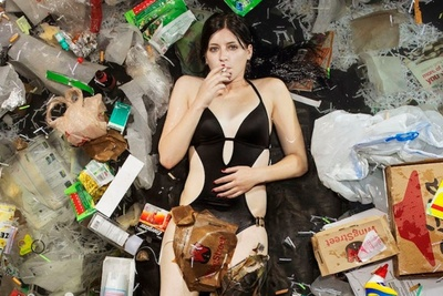 """7 Days of Garbage"" A Shocking Series By Gregg Segal"
