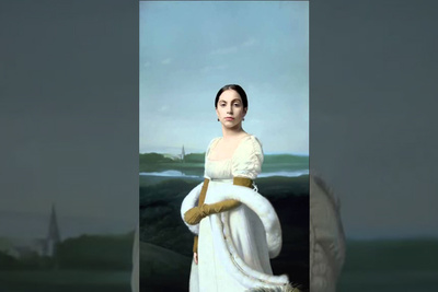 Making This Video Portrait Required Lady Gaga to Pose for 6 Hours