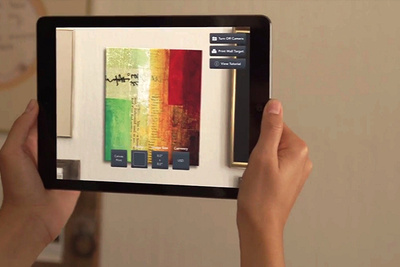 Sell Prints on Pixels & Clients Can See Framed Work on Their Walls with Augmented Reality App