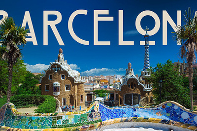 """Watch the City of Barcelona in Jaw Dropping Super Speed """"Flow-Motion"""""""