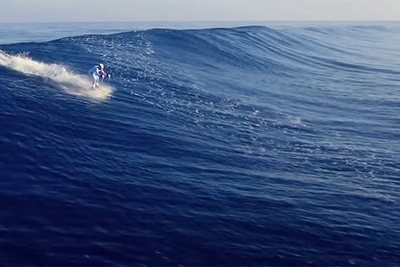 "This Bogner ""Ski Surfing"" Ad Seems Impossible"