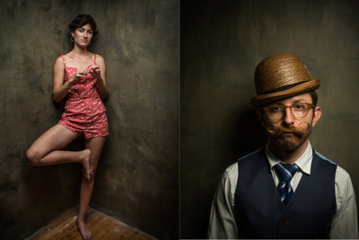 Bill Wadman Photographs People in a Corner: a DIY Project Turned Portrait Series