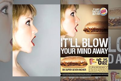 "UPDATED: Performance Artist Claims Burger King Stole and ""Digitally Raped"" Her Face"