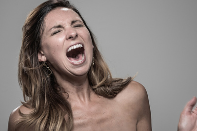 The Stun Gun Photoshoot:  Portraits of People's Faces When Hit With A Stun Gun