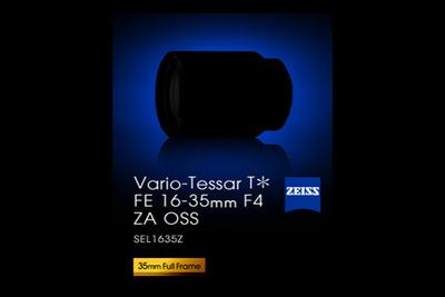 Sony Releases Teaser for the FE 16-35mm f/4.0 Lens