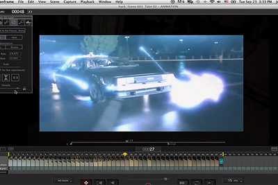 Recreating The Back To The Future Delorean Time Travel Scene On A Budget
