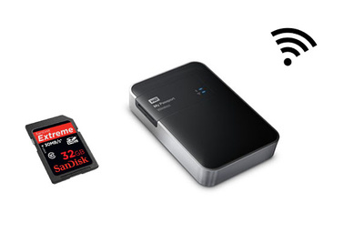 WD's New Wireless Storage Device Backs-Up SD Cards On-Location