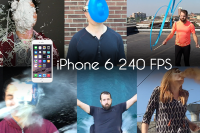 iPhone 6 Slow Motion Tests To The Face | RGG EDU