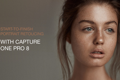Start to Finish Portrait Retouching with Capture One Pro