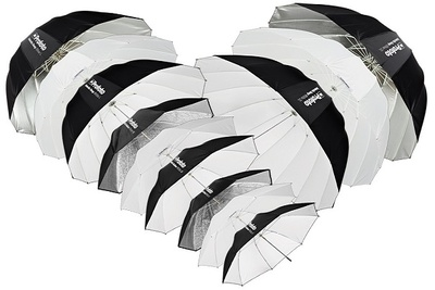 Profoto Shows Off New Medium and Small Sized Deep Umbrellas