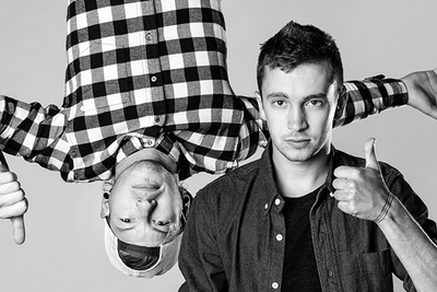 Behind The Scenes Of A Cover Shoot With The Band Twenty One Pilots