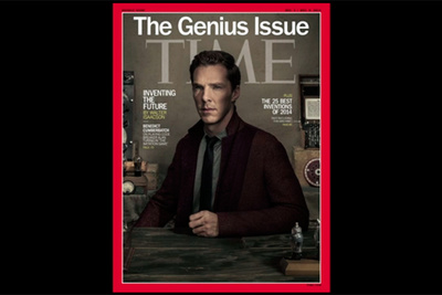 Dan Winters Shoots Benedict Cumberbatch for the Cover of TIME