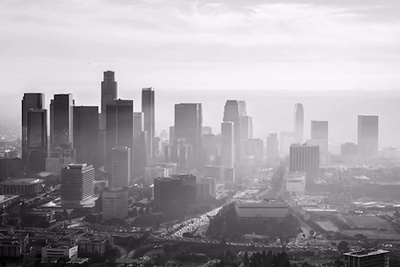 Creating Compelling B&W Aerial Images in Backlit Situations