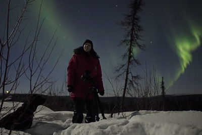 Experience 4k Ultra High Definition Video of the Northern Lights Captured with a Sony a7S and Atomos Shogun
