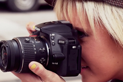 Shooting the Nikon D5500 Campaign with (Gasp!) a Nikon D5500