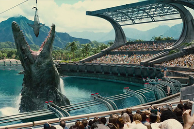 CGI-Filled Jurassic World Super Bowl Spot Creates Whole New Look for the Franchise