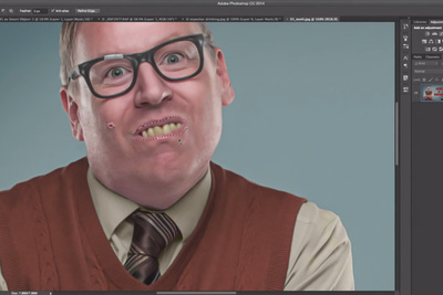 Quick and Easy Way to Whiten Teeth in Photoshop