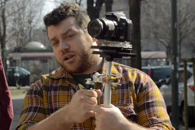How To Make A Steadicam From Two Old Hard Drives
