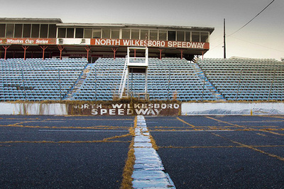 Eerie Photo Series Highlights Ruins of NASCAR's Very First Racetrack
