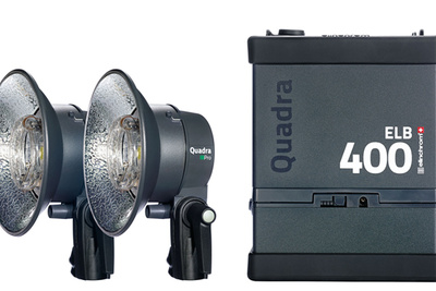 The ELB 400 - Elinchrom's New Portrable Strobe Announced