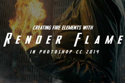 Video Tutorial: Creating Fire Elements with the Render Flame Filter in Photoshop CC 2014