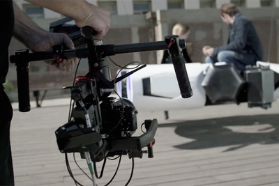 DJI and Hollywood's Finest Go Big on Ronin-M Film
